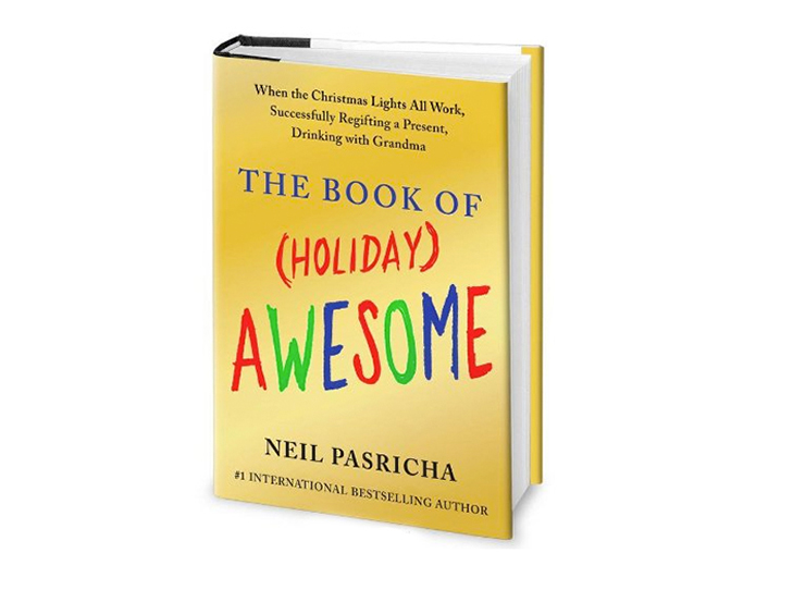 Book of Holiday Awesome Book Cover