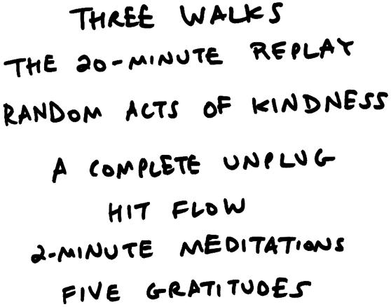 3 Walks