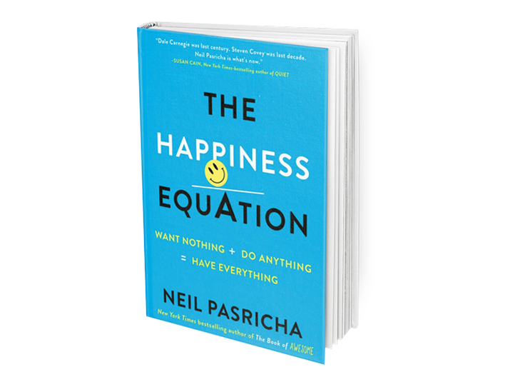 Happiness Equation Book Cover